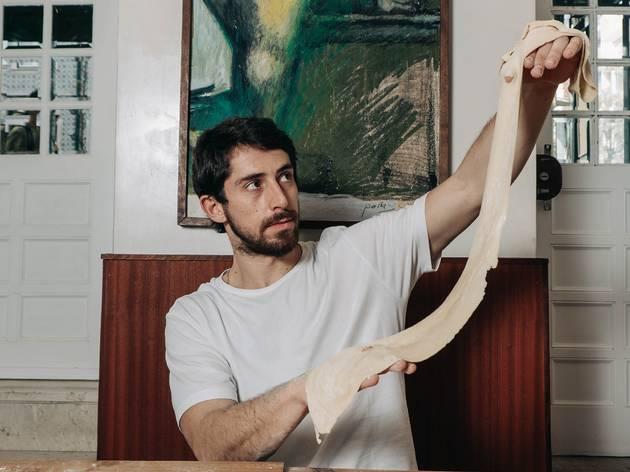 Restaurante, Cacué, José Saudade e Silva