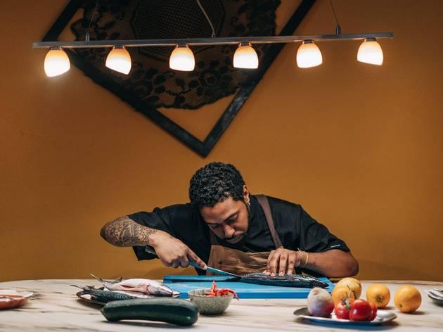 Chef, Tiago de Lima Cruz, Taberna Sal Grosso
