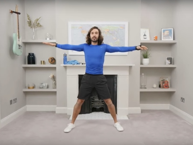 Fitness coach Joe Wicks gives workout fans PE-ek behind scenes