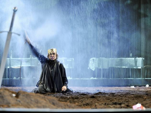 Hamlet at Schaubuhne theatre