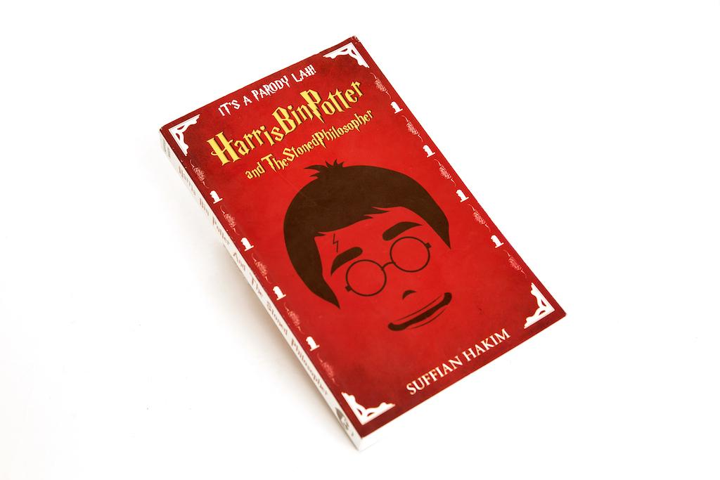 Harris Bin Potter, book
