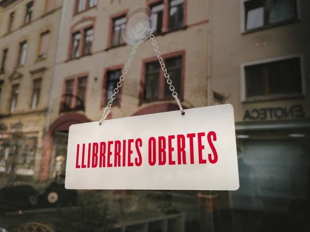 Campanya 'Llibreries obertes'