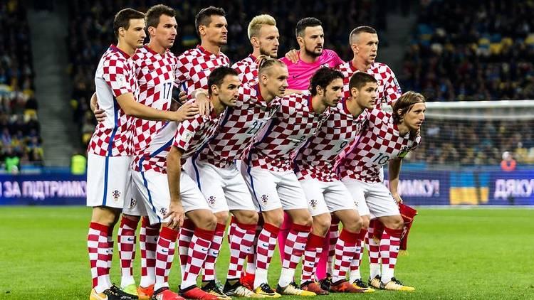 FIFA World Cup 2018 match Ukraine - Croatia.