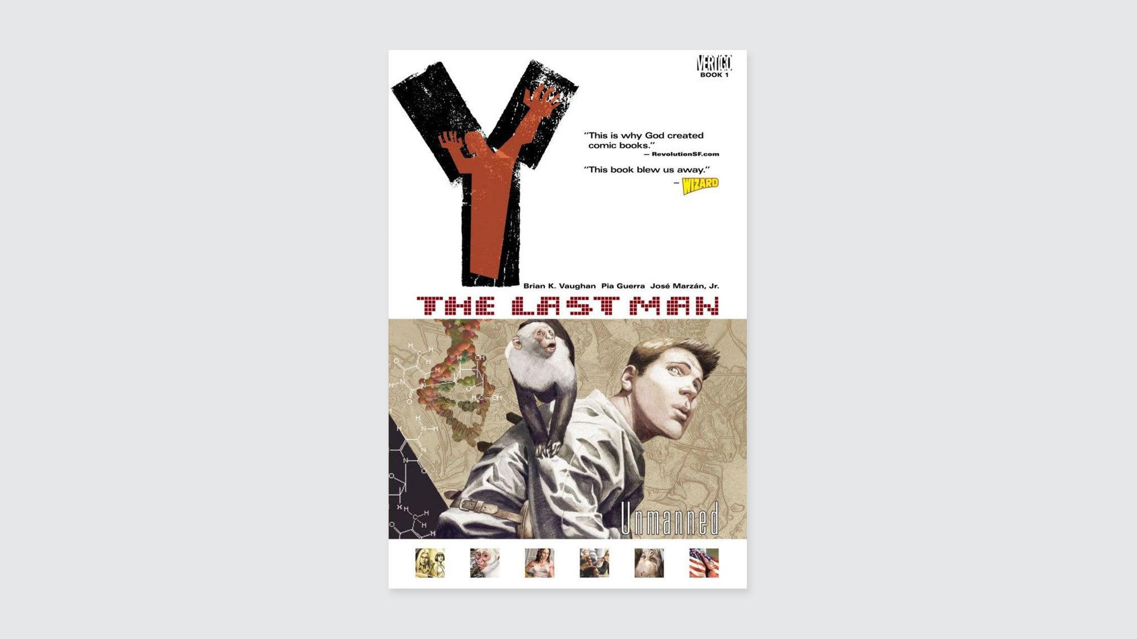 Y the Last Man comic