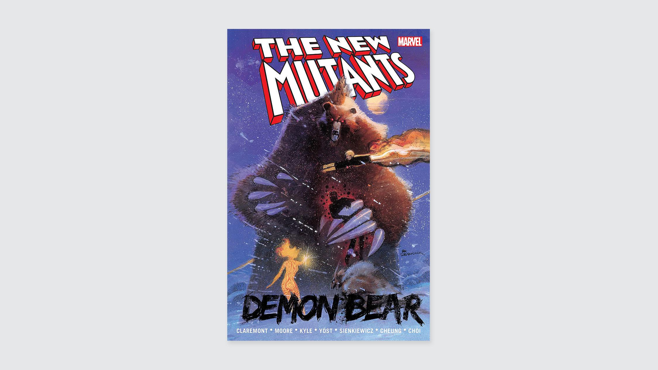 The New Mutants: Demon Bear comics