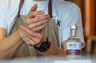 Brix Rum hand sanitiser