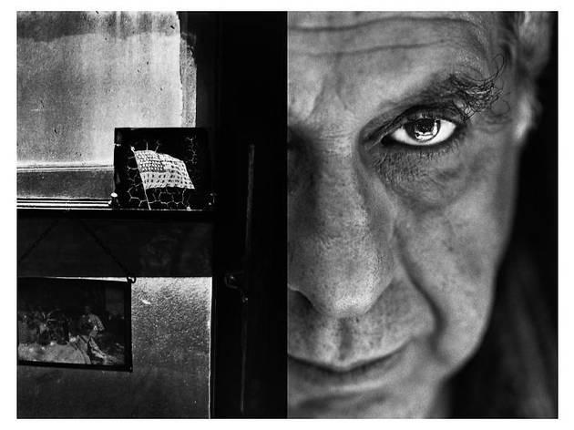 操上和美 「Robert Frank_New York」、1992年、ゼラチン・シルバー・プリント、50.3 x 67.4 cm © Kazumi Kurigami / Courtesy of Taka Ishii Gallery Photography / Film