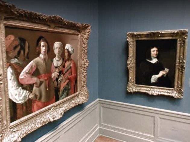 Screenshot from the Google Arts & Culture viewing of The Metropolitan Museum of Art