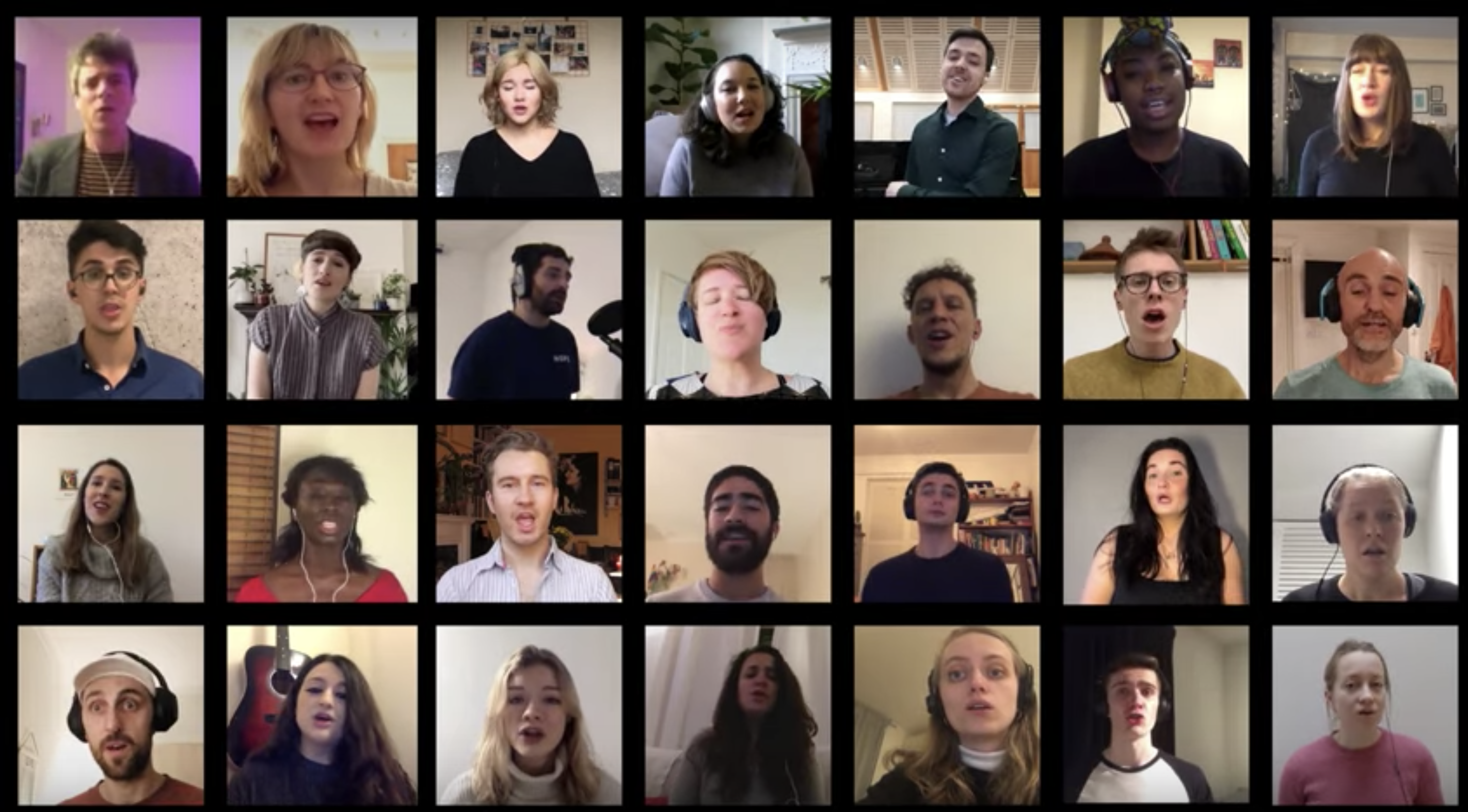 Virtual choir, Camden Voices choir