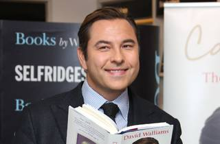David Walliams reading one of his books