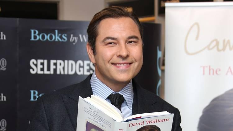David Walliams reading one of his books