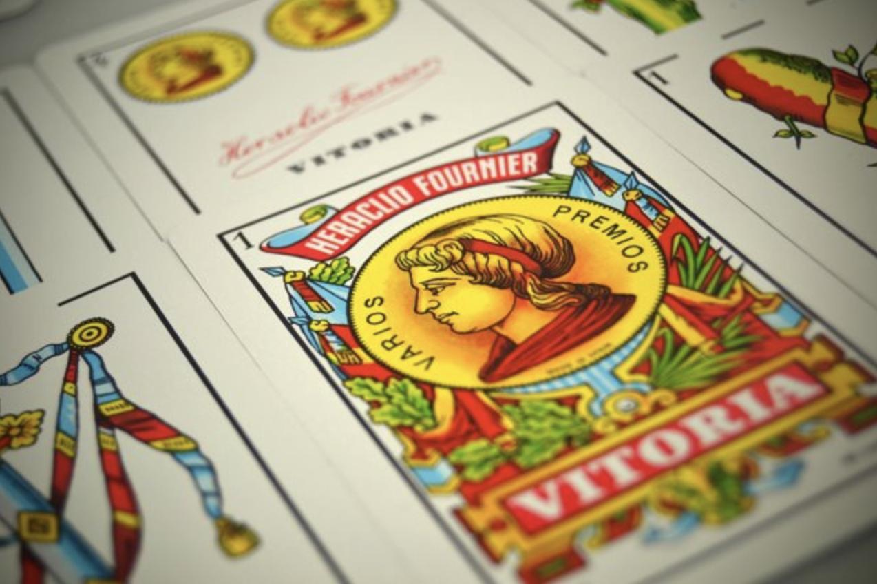 Naipes juego de cartas Fournier As