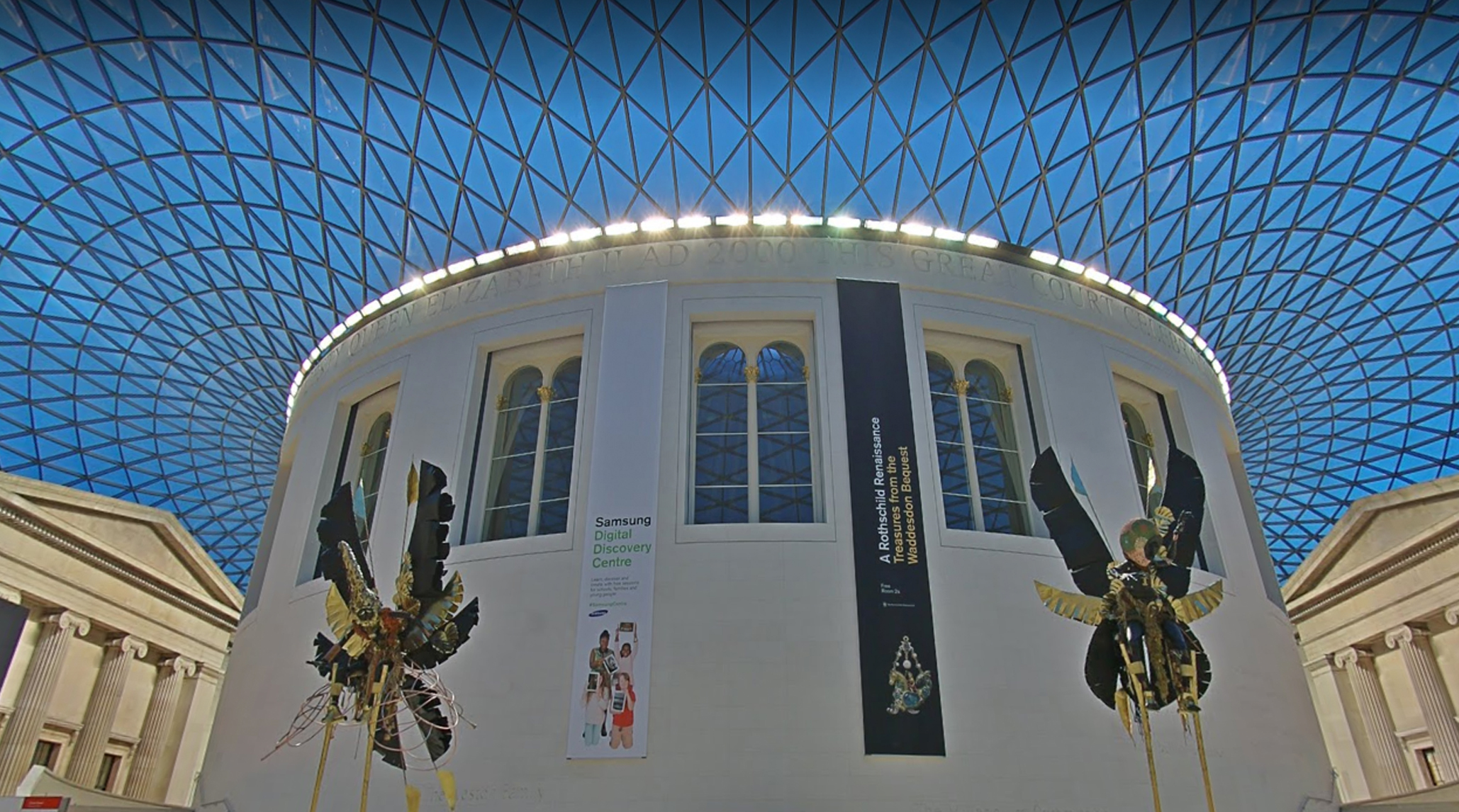 Virtual tours of almost every major London museum