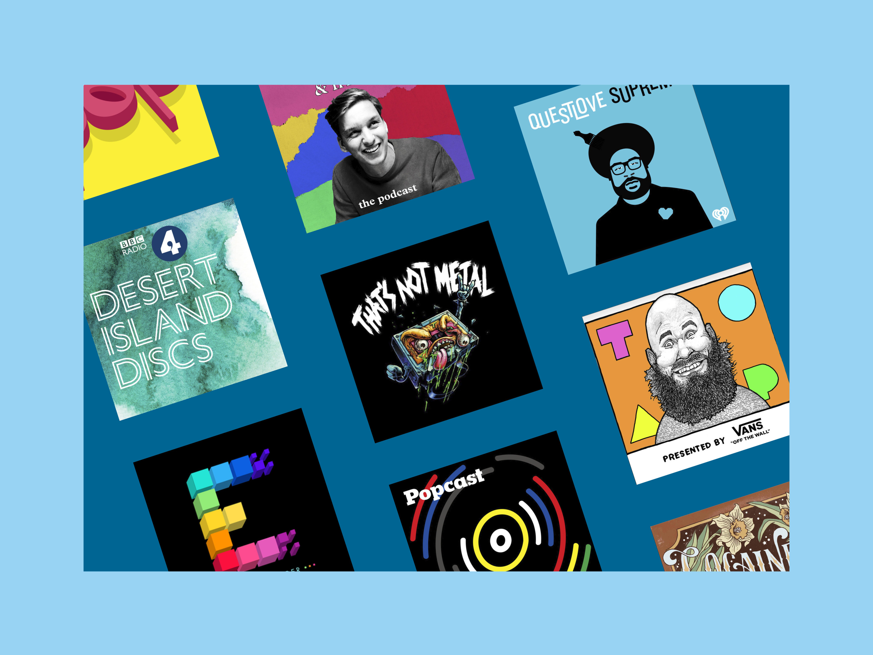 Top of the pods: the best podcasts about music