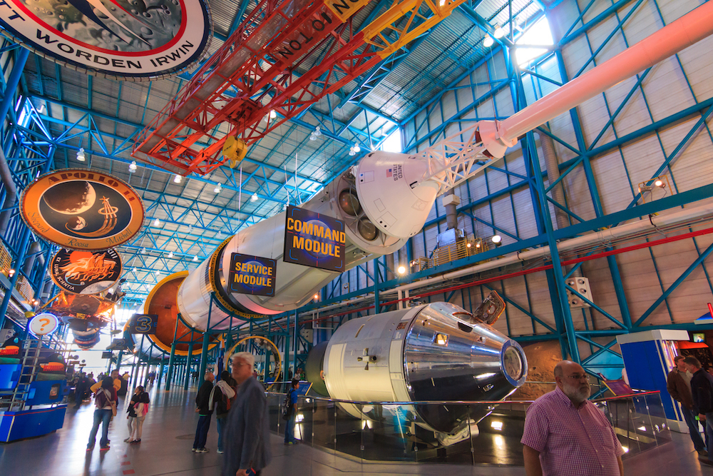 Visit the Kennedy Space Center without leaving the couch