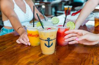 Monty's Raw Bar cocktails
