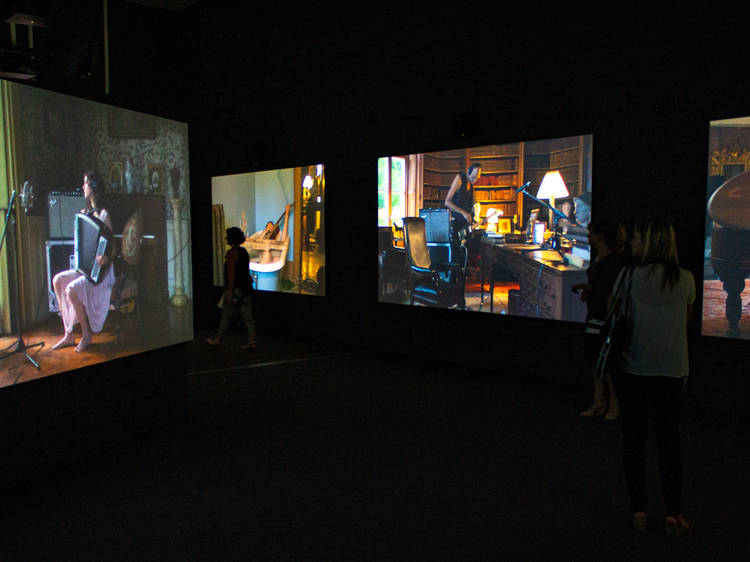 Weep with joy and watch this video of 'The Visitors,' the Broad's most moving piece of art
