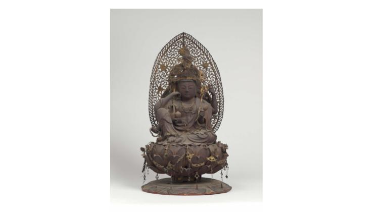 秘仏「如意輪観音坐像」 京都・頂法寺(六角堂)