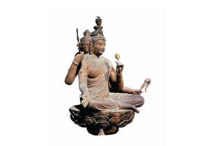 国宝 木造梵天坐像 平安時代 教王護国寺蔵(提供:便利堂)