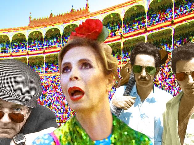 Collage con Jaime Urrutia y Agatha Ruiz de la Prada