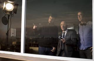 Àlex i David Pastor amb Javier Gutiérrez