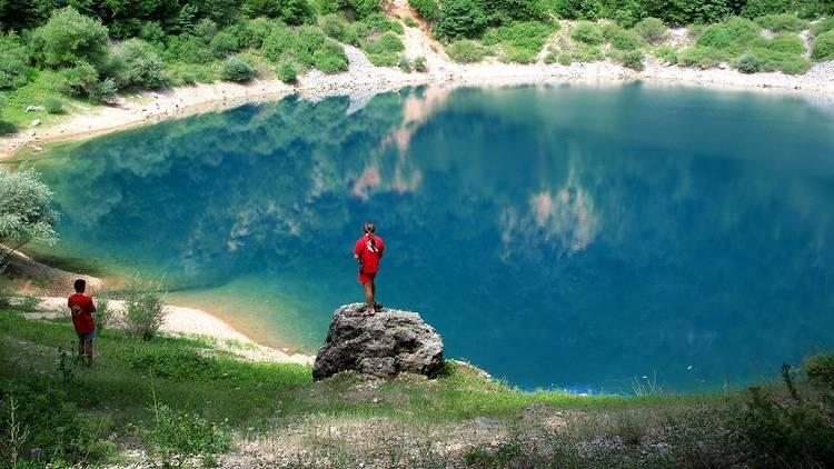 Babića lake in the Lika region