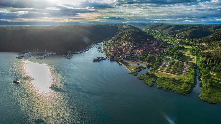 Prokljansko lake, a jewel of Croatia's Šibenik-Knin county