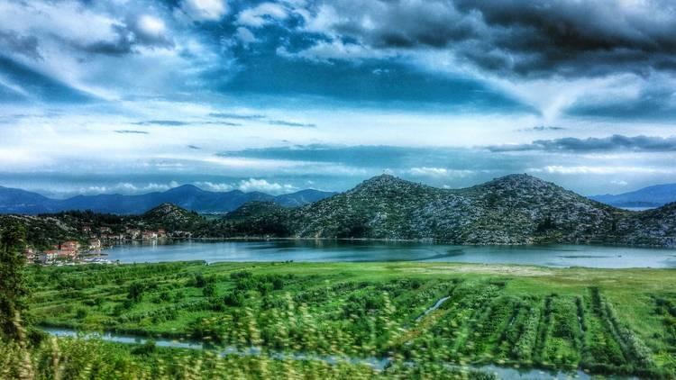 Vlaška lake in the Neretva river valley
