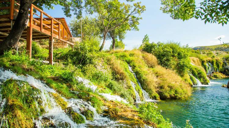 Zrmanja river in Zadar County