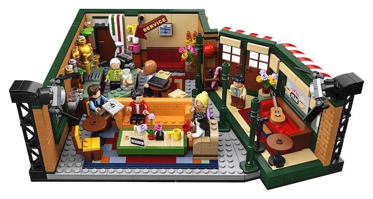 Escenario de Friends hecho con Lego