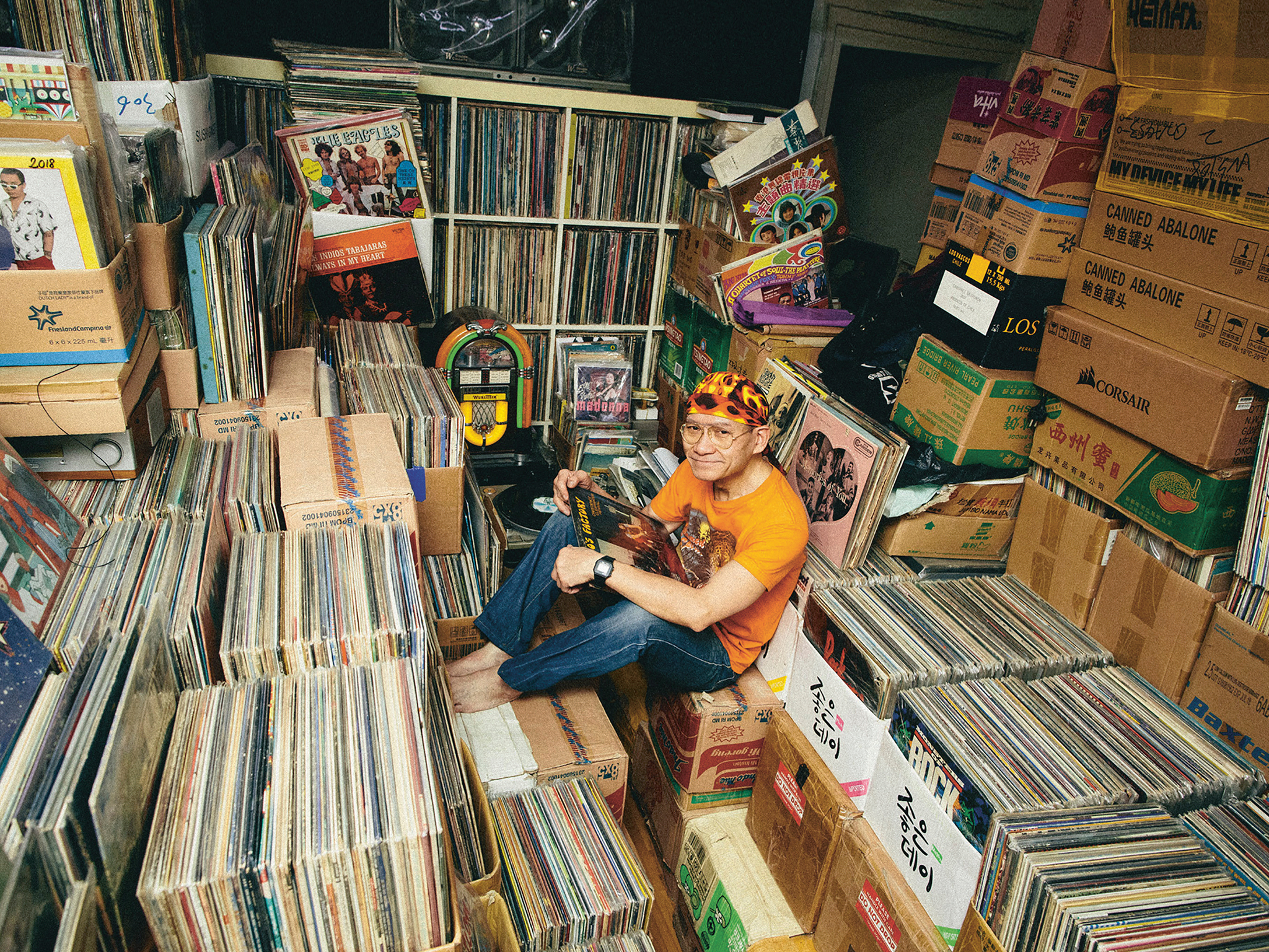 Vinyl Hero Interior