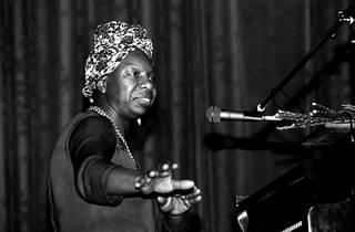 Nina Simone plays live, 14 May 1982
