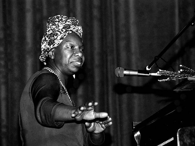 Nina Simone plays live, 14 May 1982