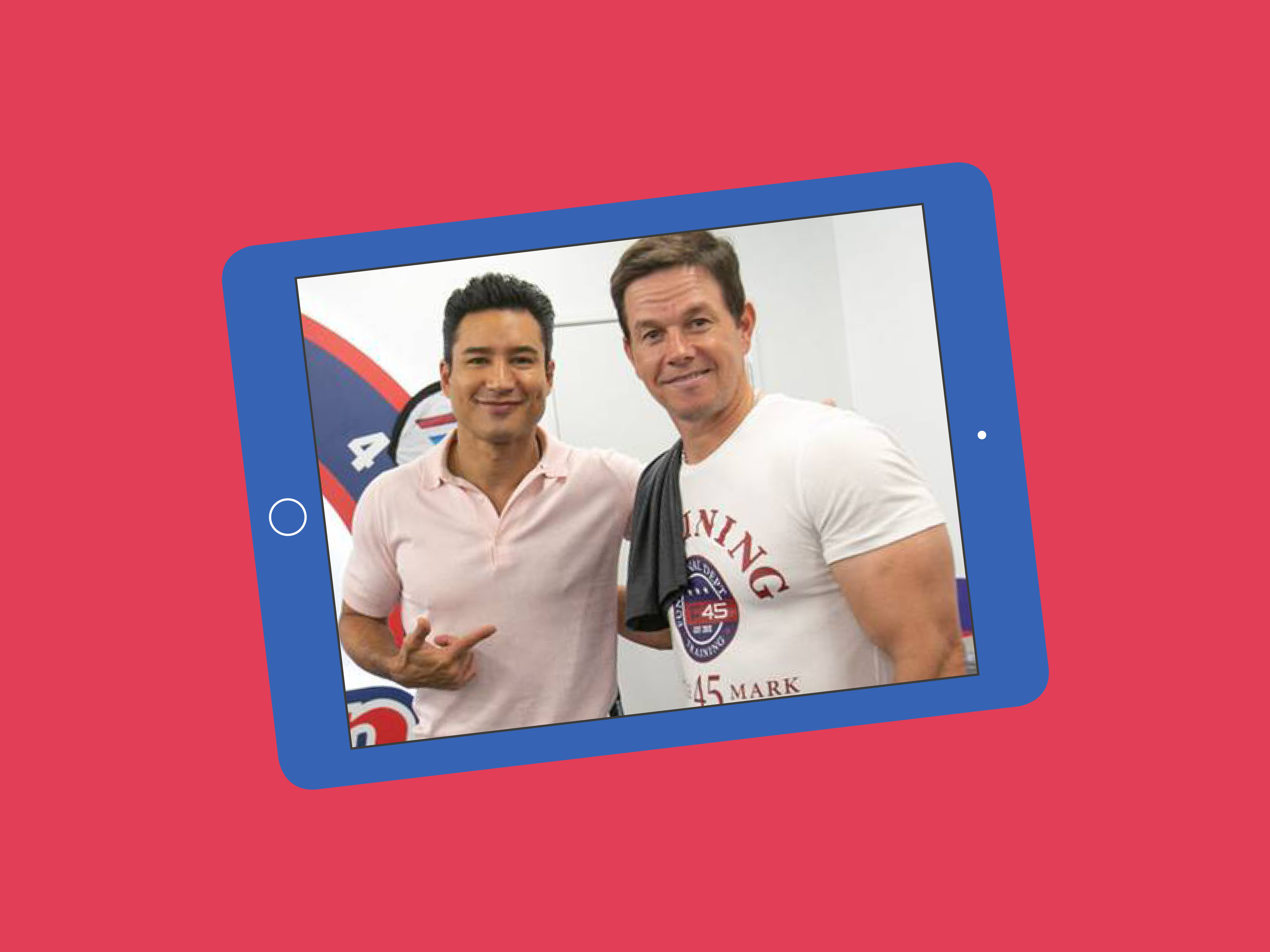Mark Wahlberg is hosting an F45 workout on Instagram