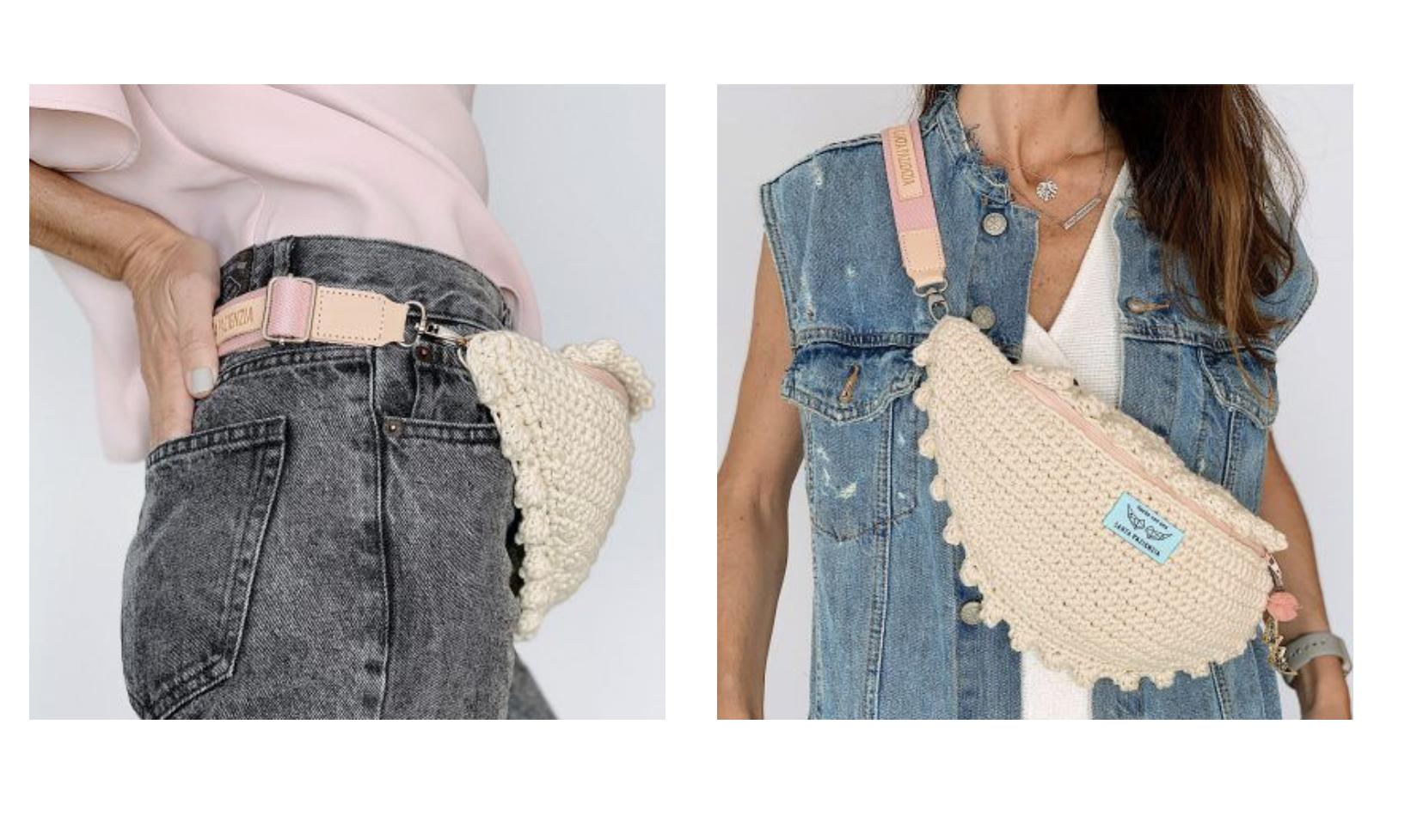 Crochet y otros puntos para engancharse fácilmente