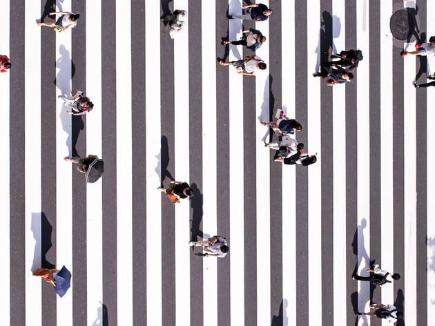pedestrian, COVID-19