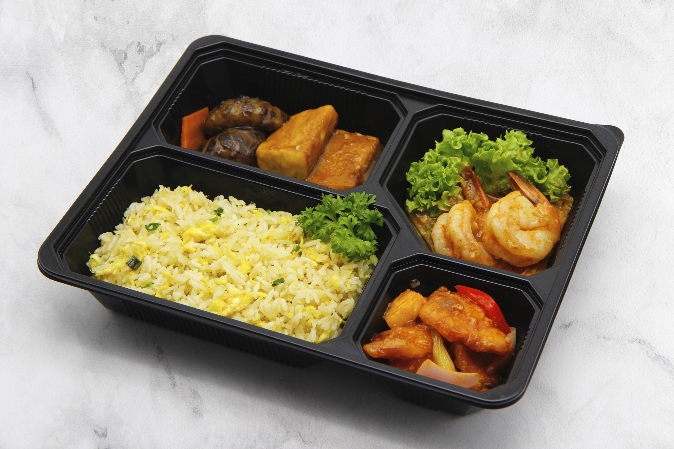 Jumbo Seafood Bento Set