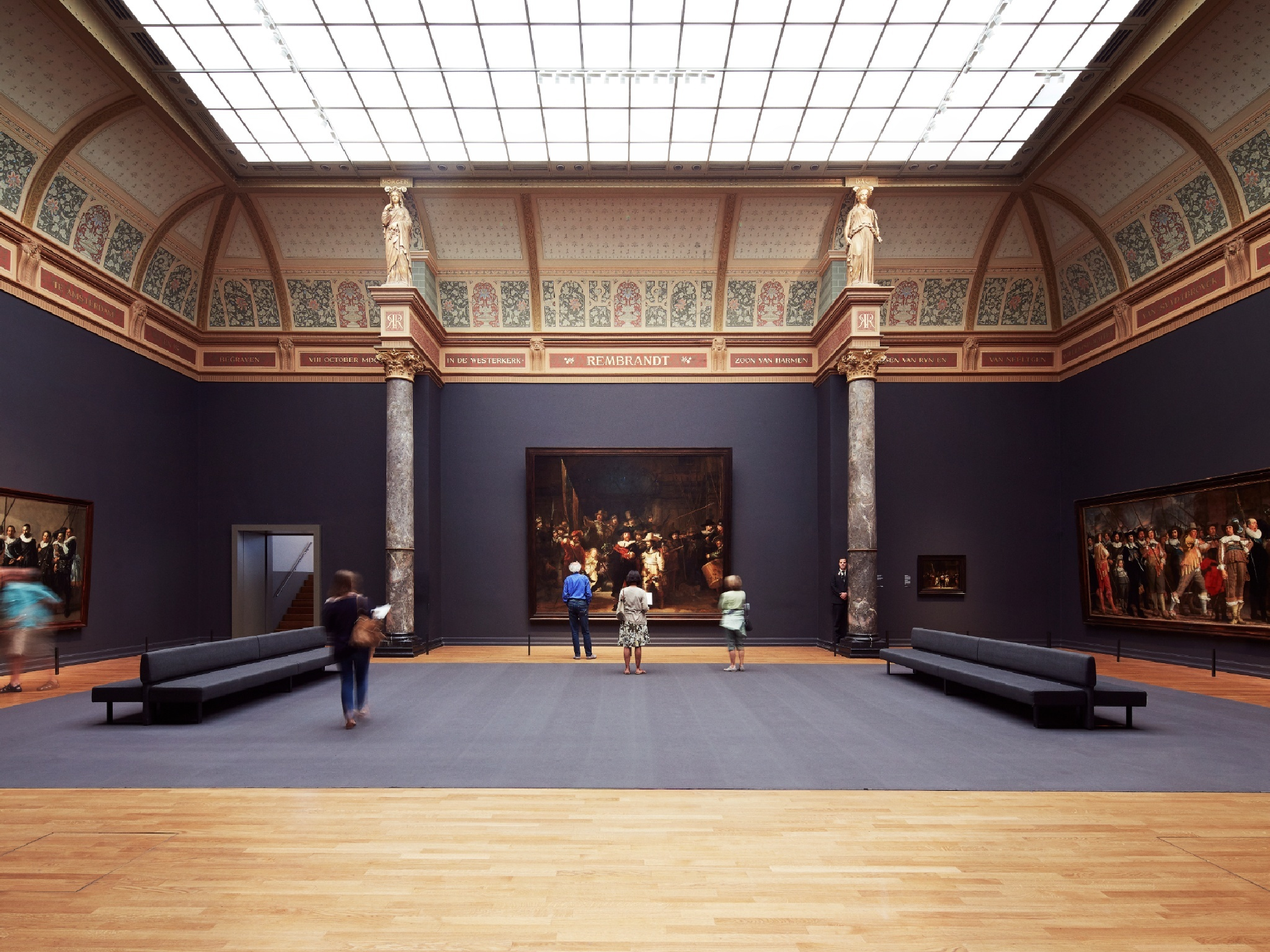 Check out this virtual tour of Amsterdam's Rijksmuseum