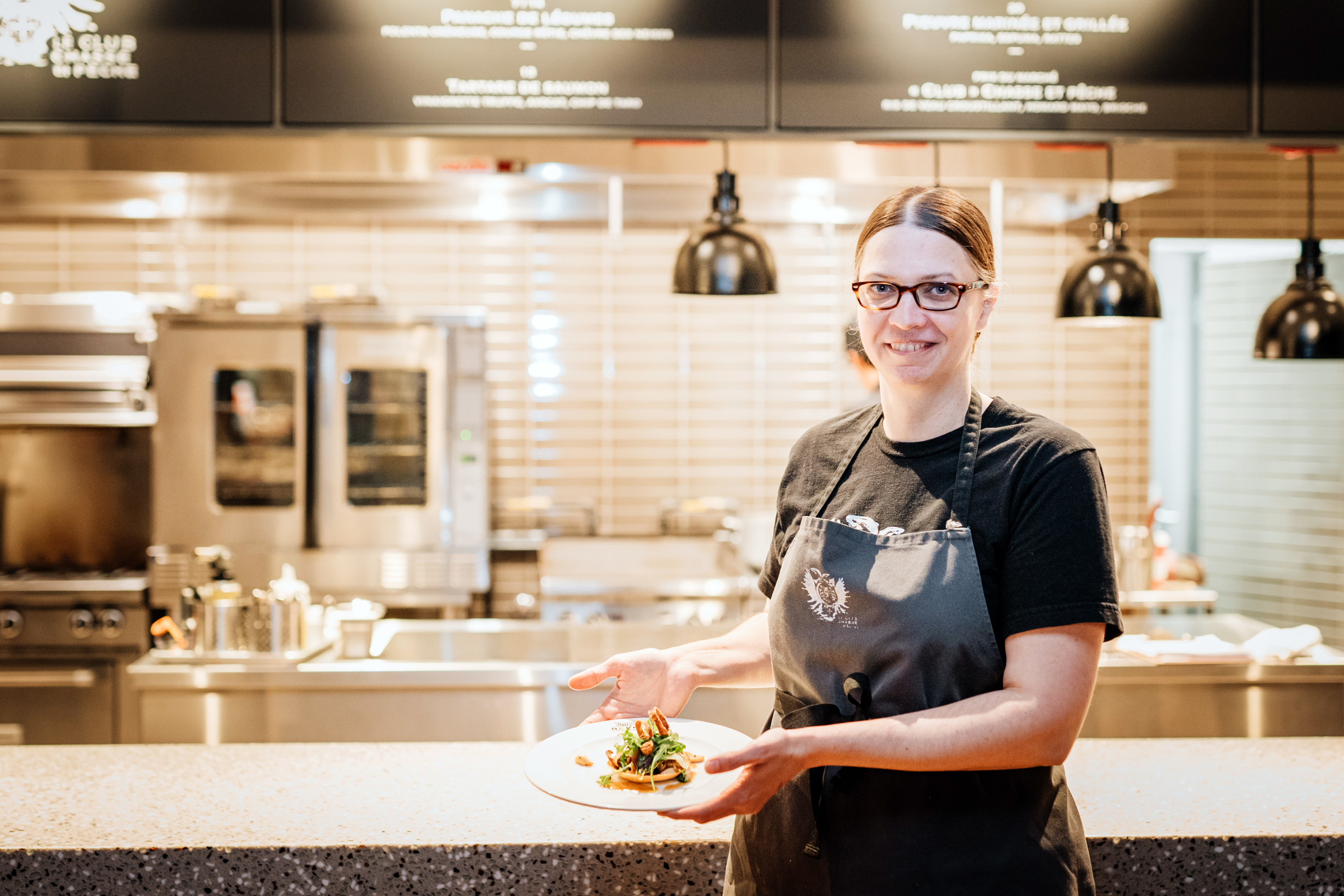 """""""I needed to move more"""": In conversation with chef Mélanie Blouin"""
