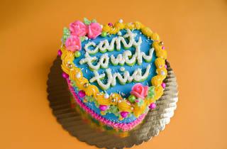 bon vivant, bon vivant cakes, cake, cakes, bakery, baker, pastry, can't touch this, emily nejad, quarantine, coronavirus