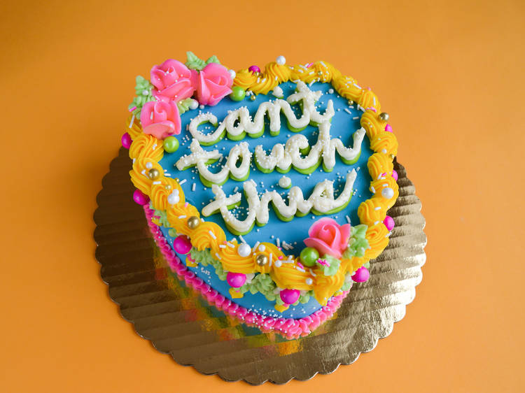 Bake a hilarious quarantine cake