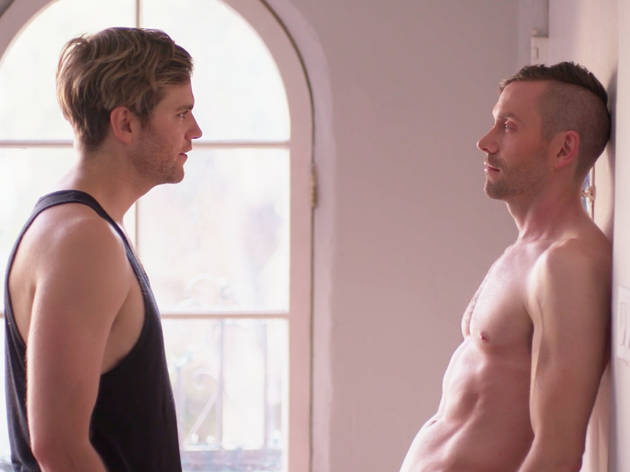 Serie gay Eastsiders Kit Williamson, Van Hansis