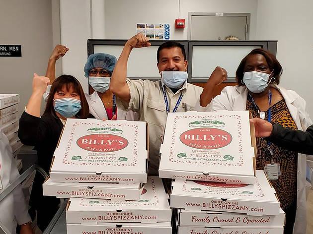 Pizza vs. Pandemic