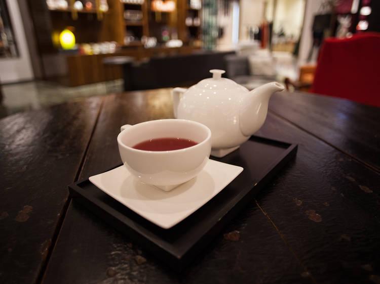 Té, mucho té