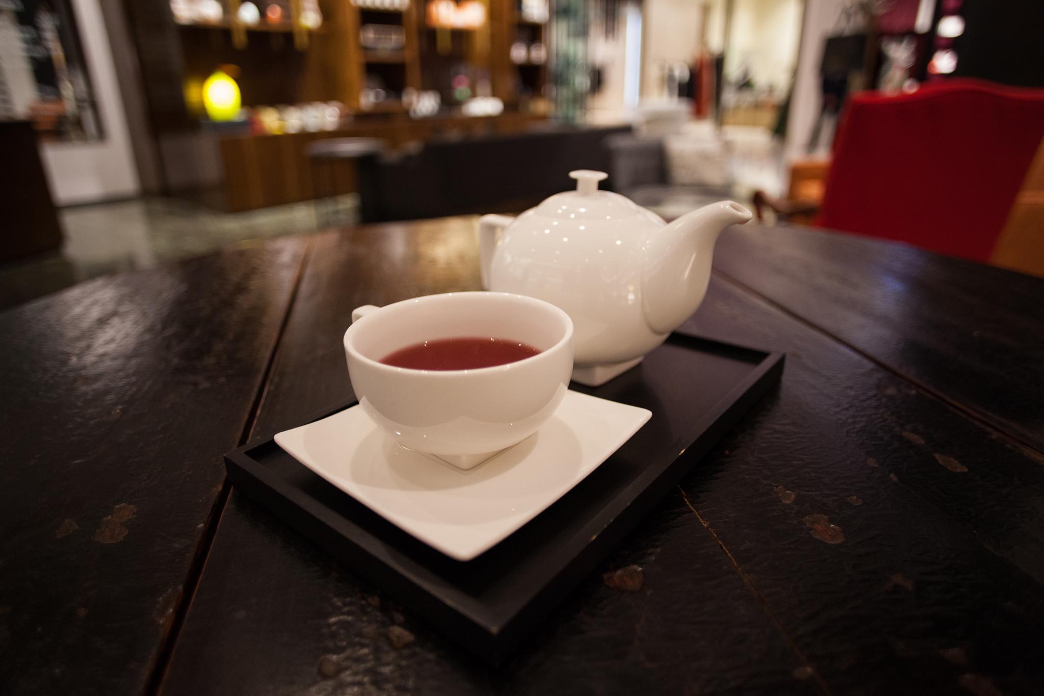 Taza de té en Tea Forte