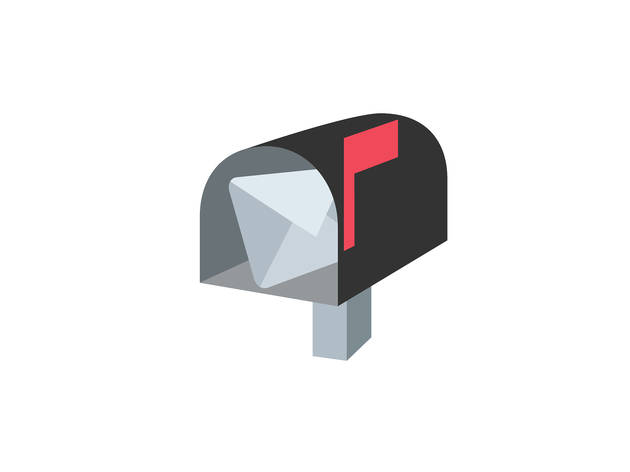 Mail box emoji