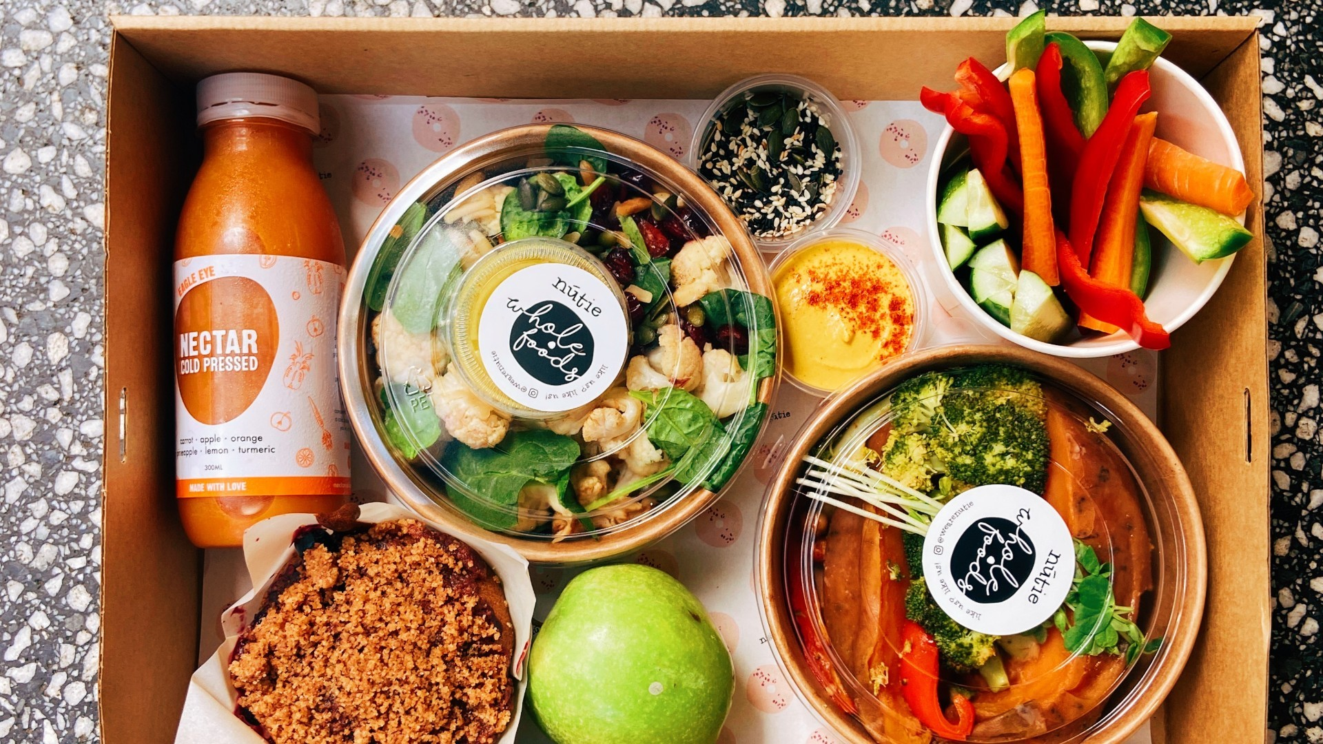 This local business is delivering vegan, gluten free meal boxes to your door