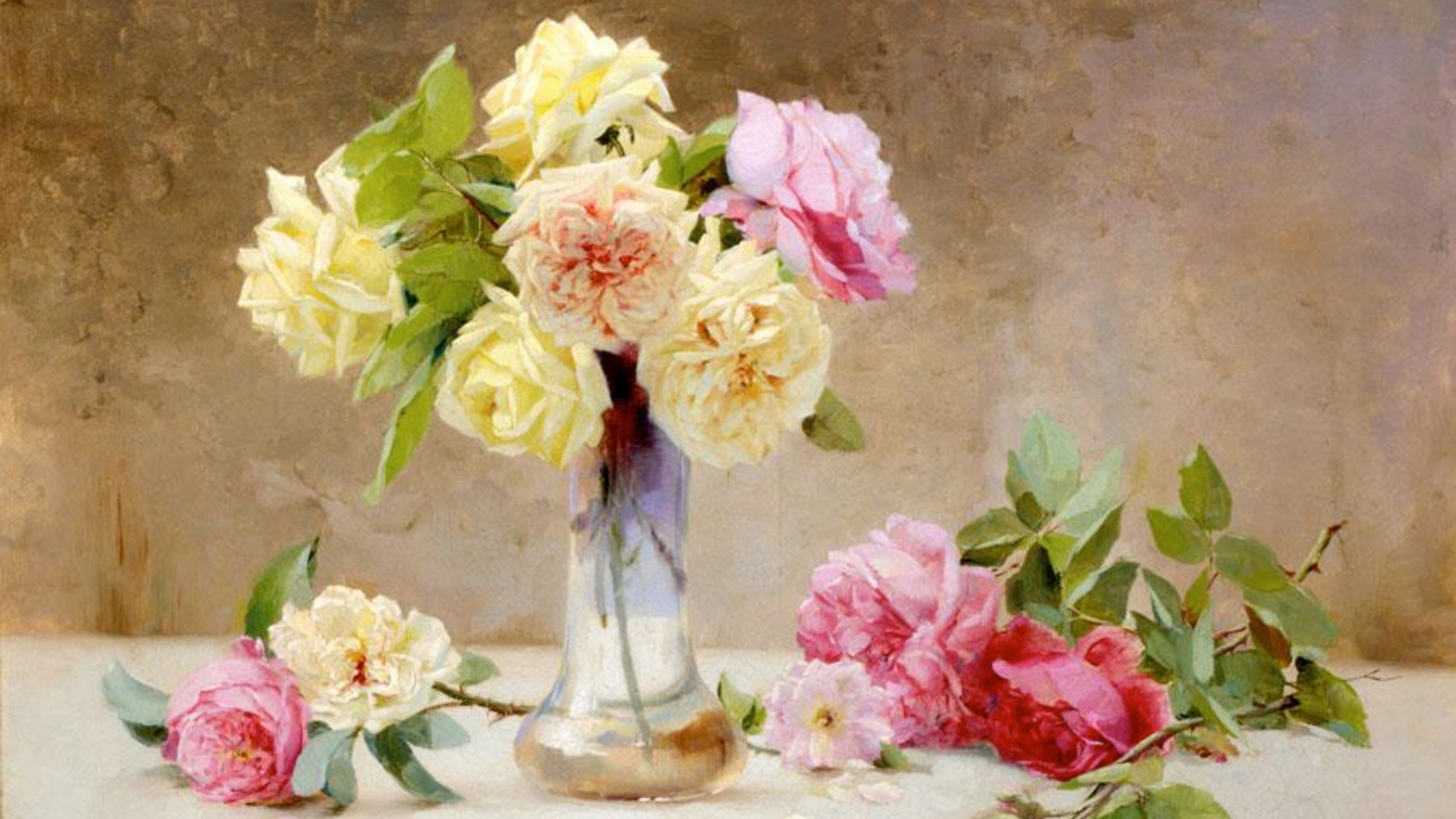 Museums across the world are sending each other virtual bouquets