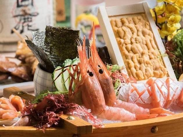Tsukiji food