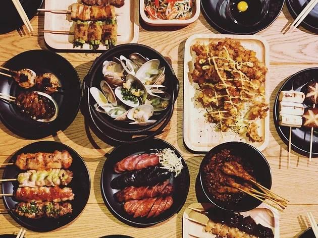 Ganbei food